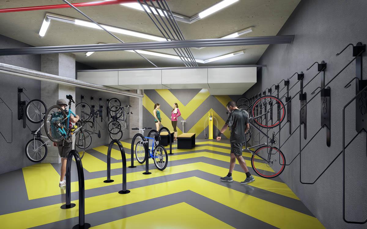 New Bike Storage Facility